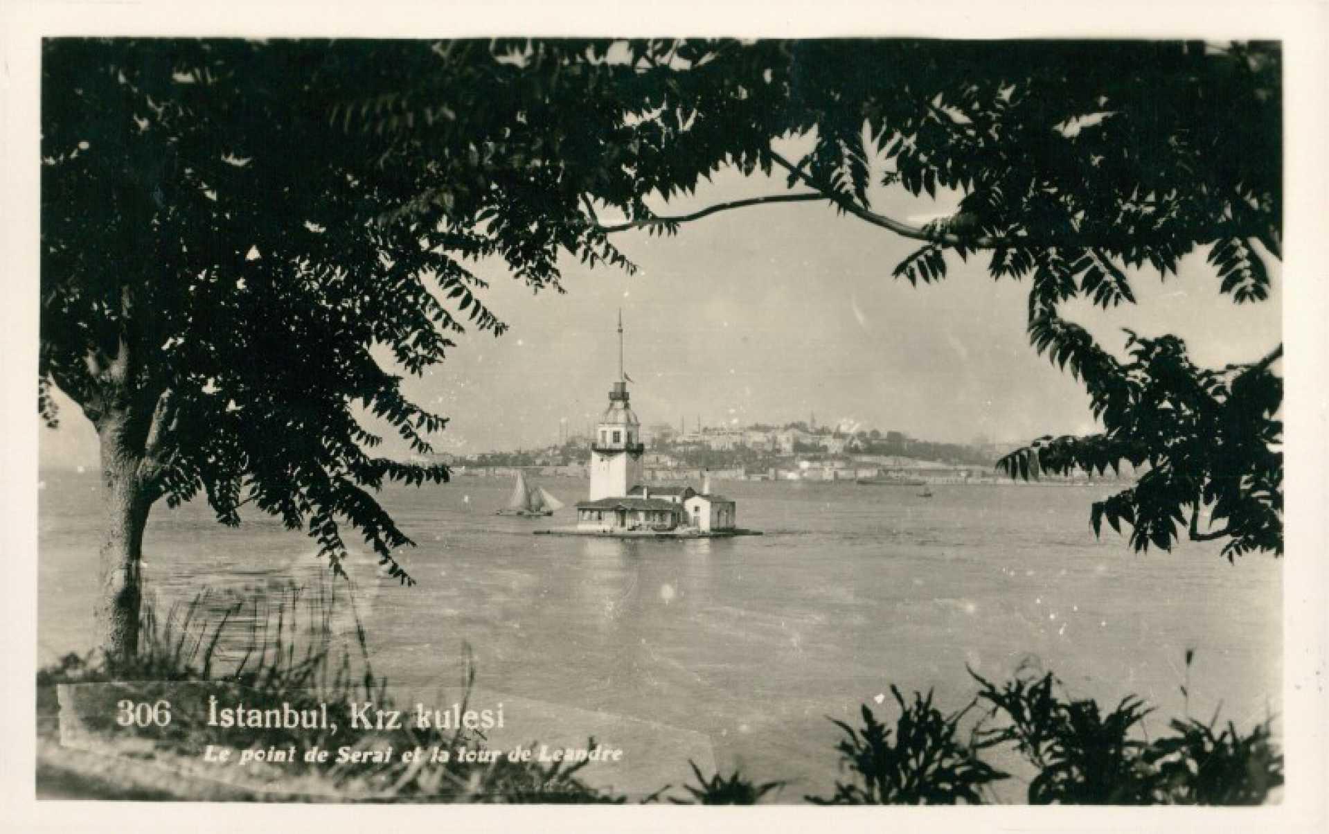 İstanbul. Kız kulesi Le point de Serai et la tour de Leandre
