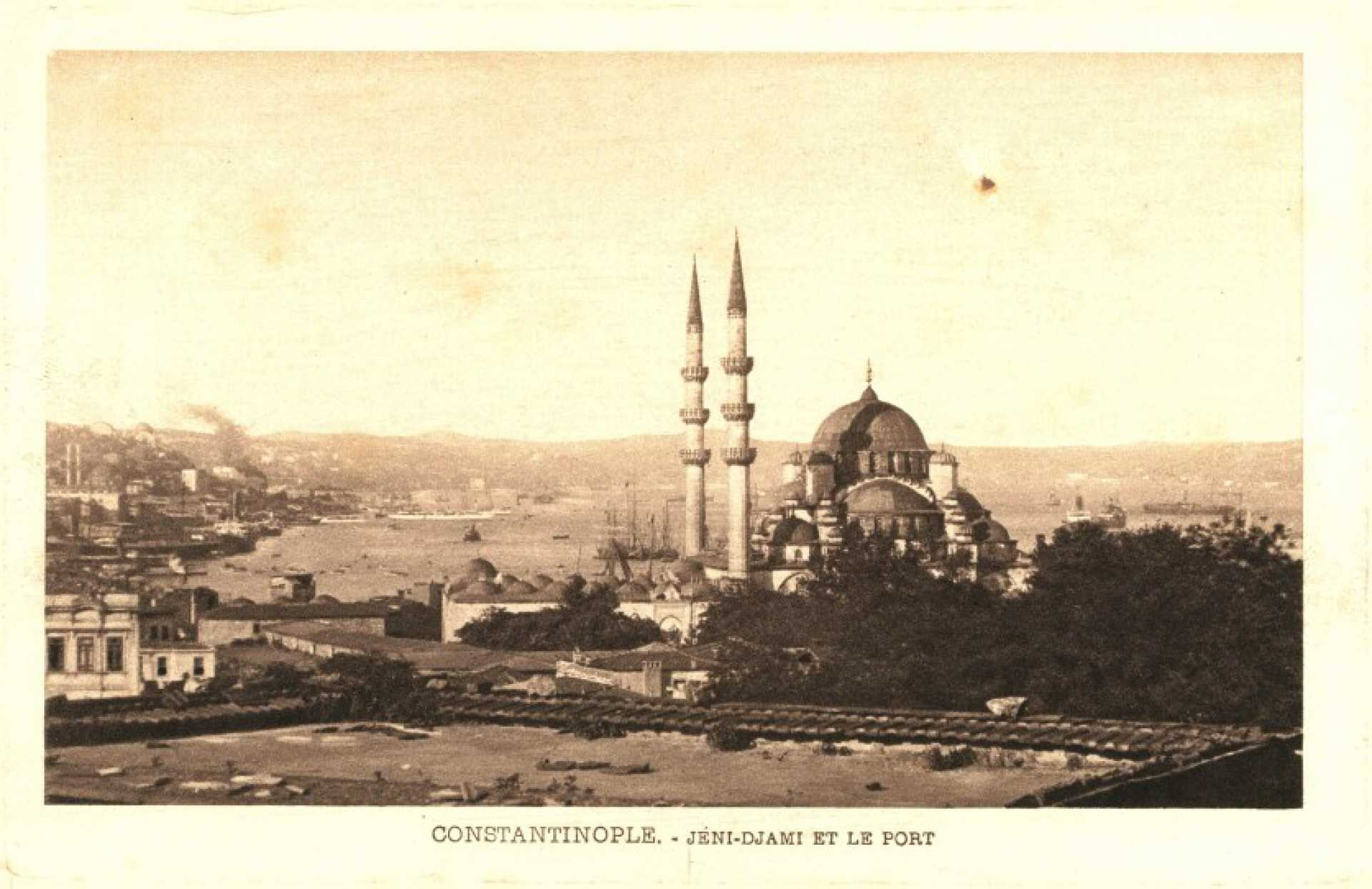 Constantinople. Jeni- Djami et le port