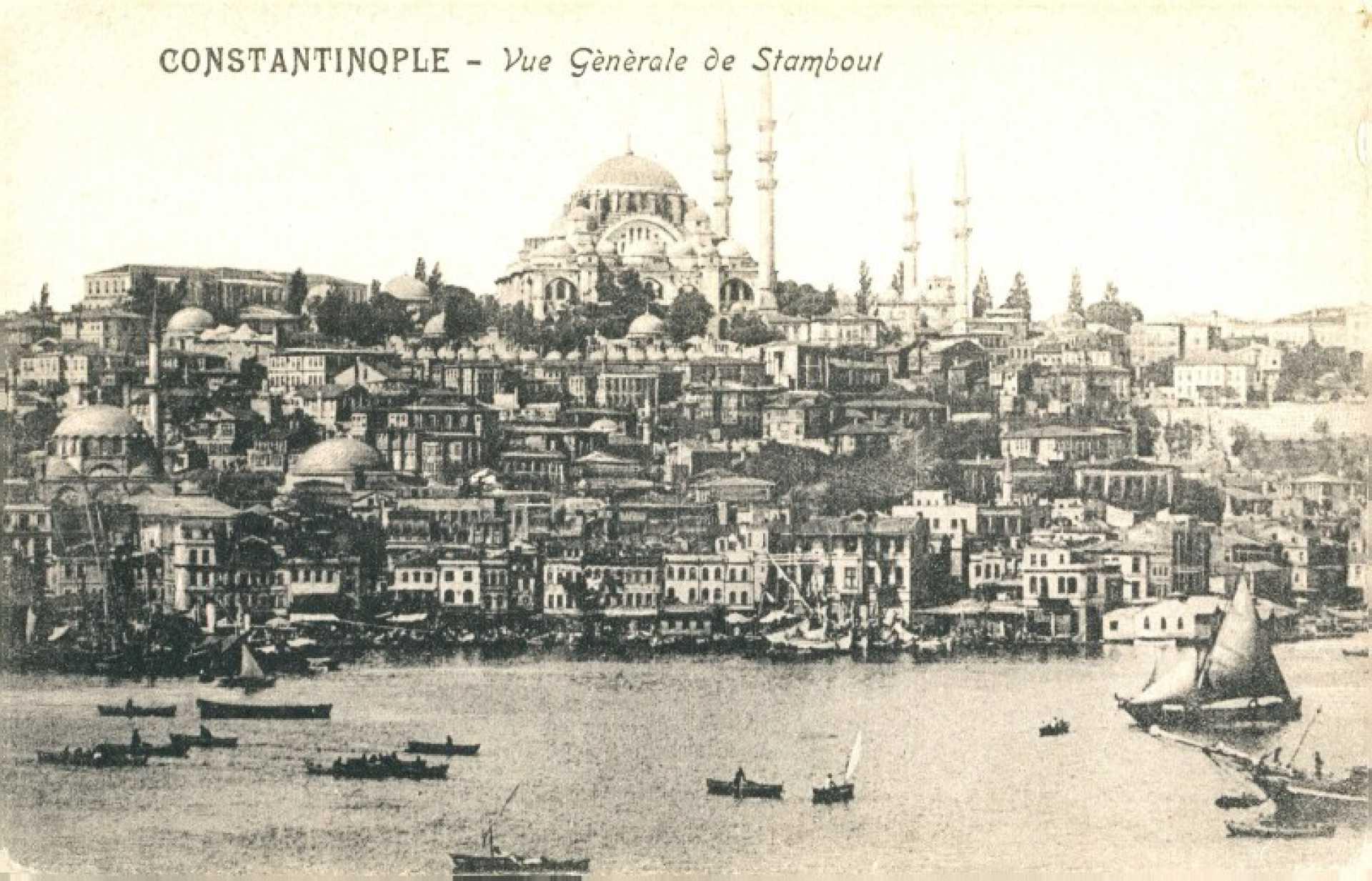 Constantinople- Vue Generale de Stambul