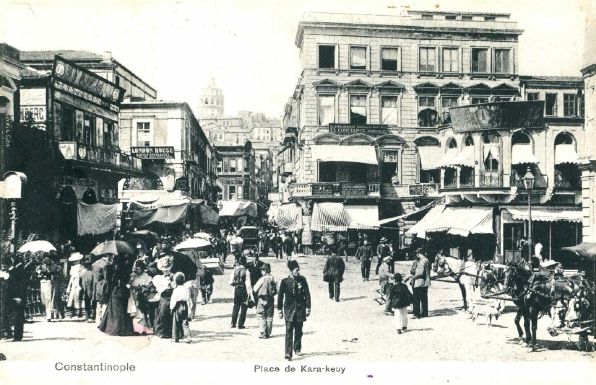 Place de Kara-keuy. Constantinople