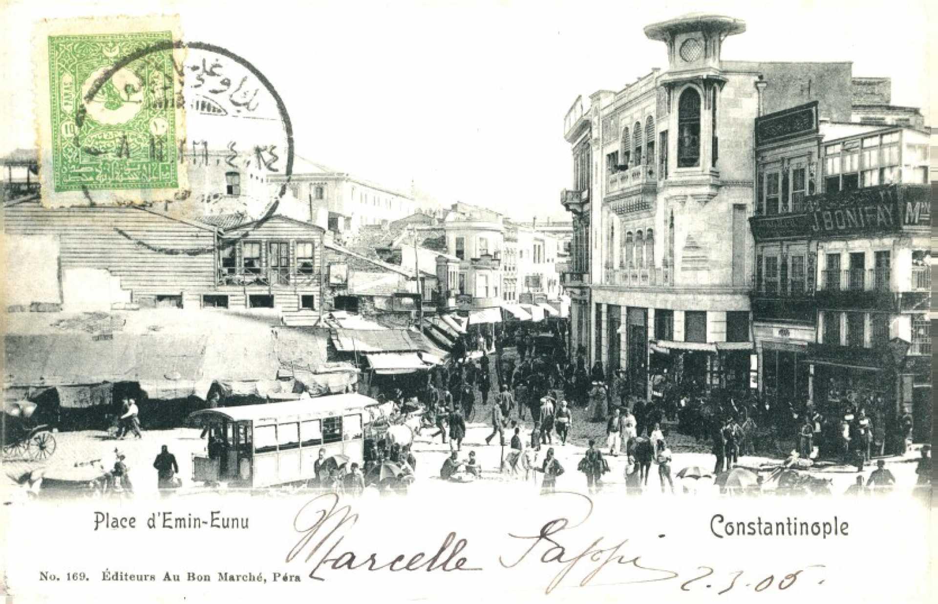 Constantinople. Place d'Emin Eunu