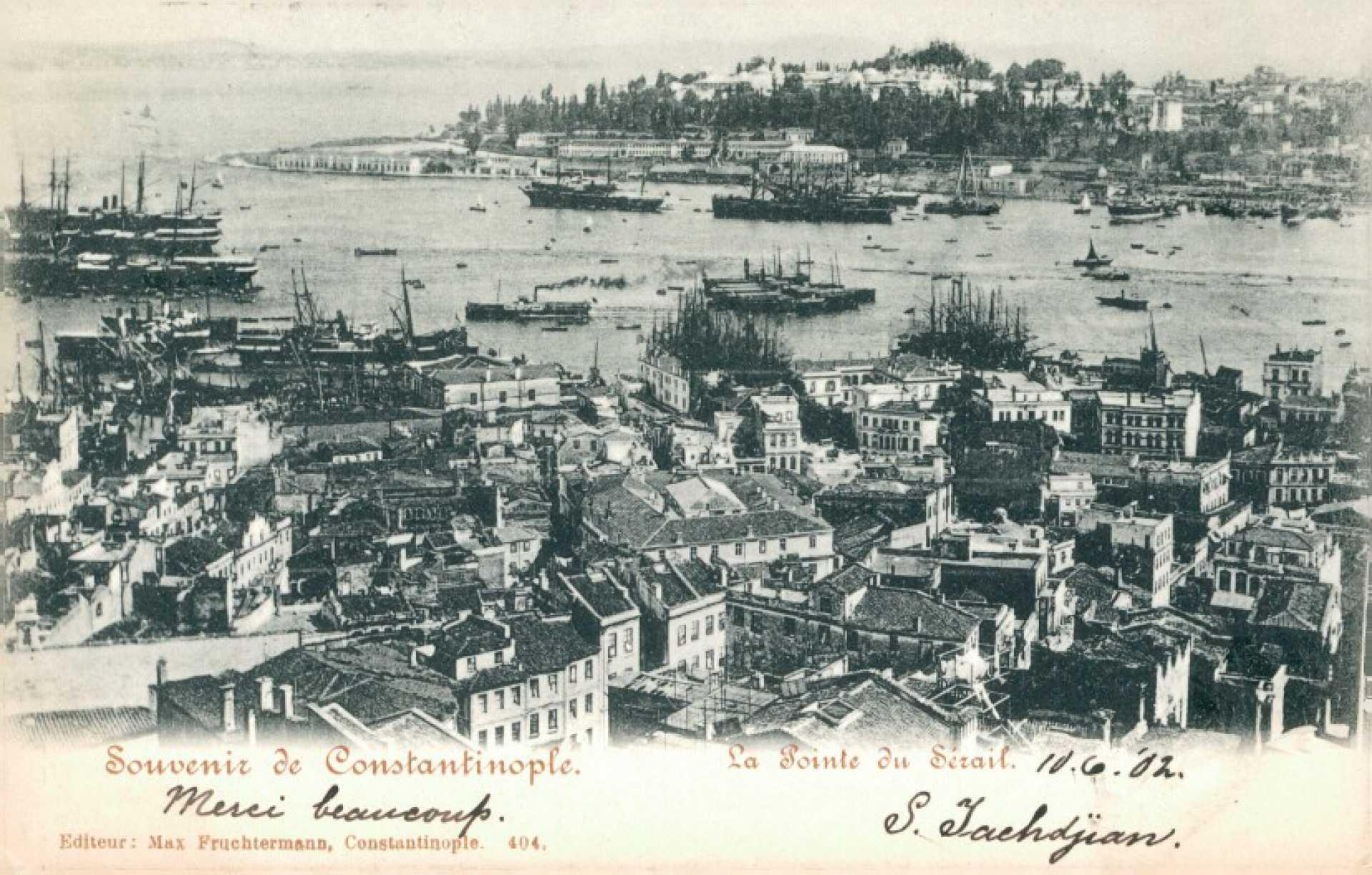 Souvenir de Constantinople. La point du Serail