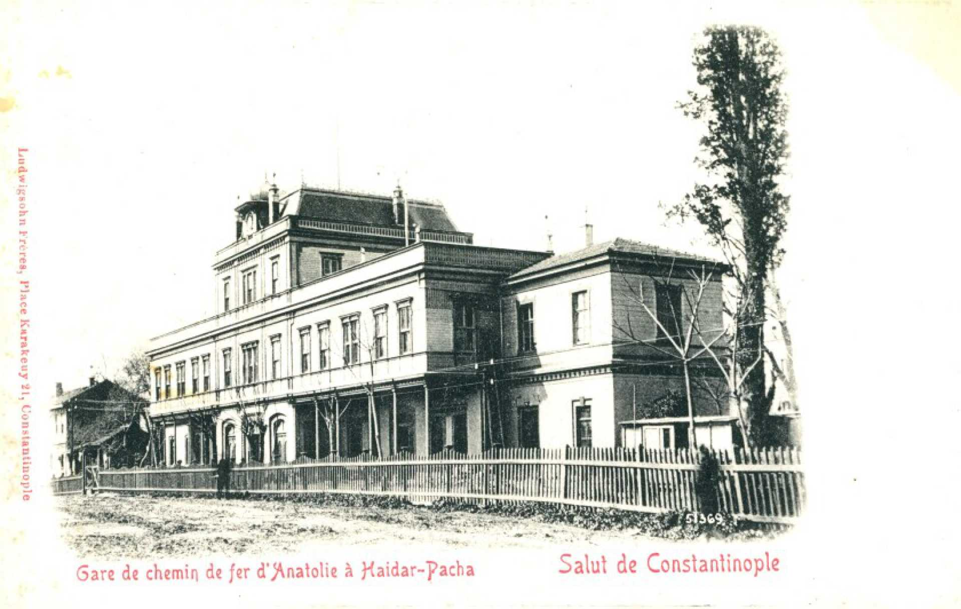 Gare de chemin de fer d'Anatolie a Haidar-Pacha