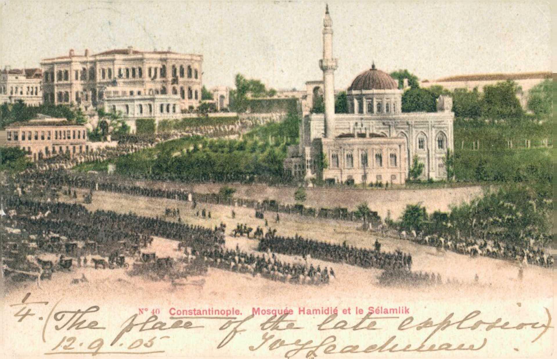 Mosquee Hamidie et le Selamlik