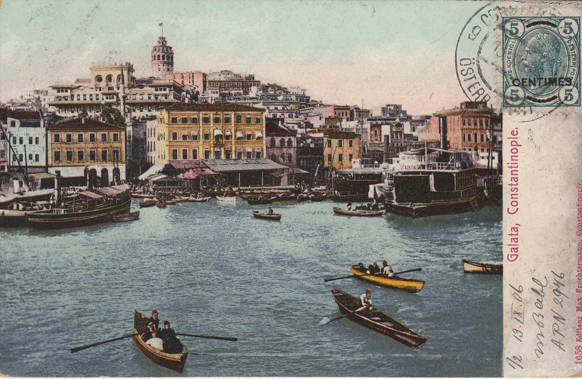 Galata. Constantinople