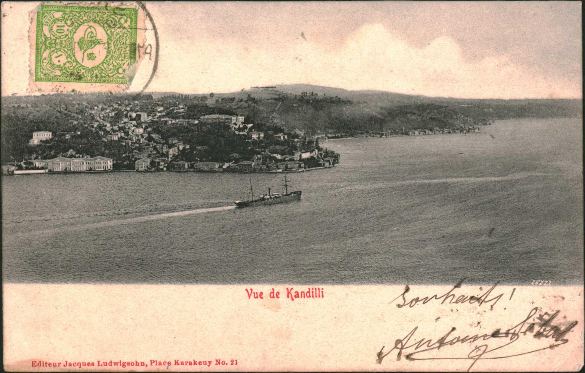 Vue de Kandilli
