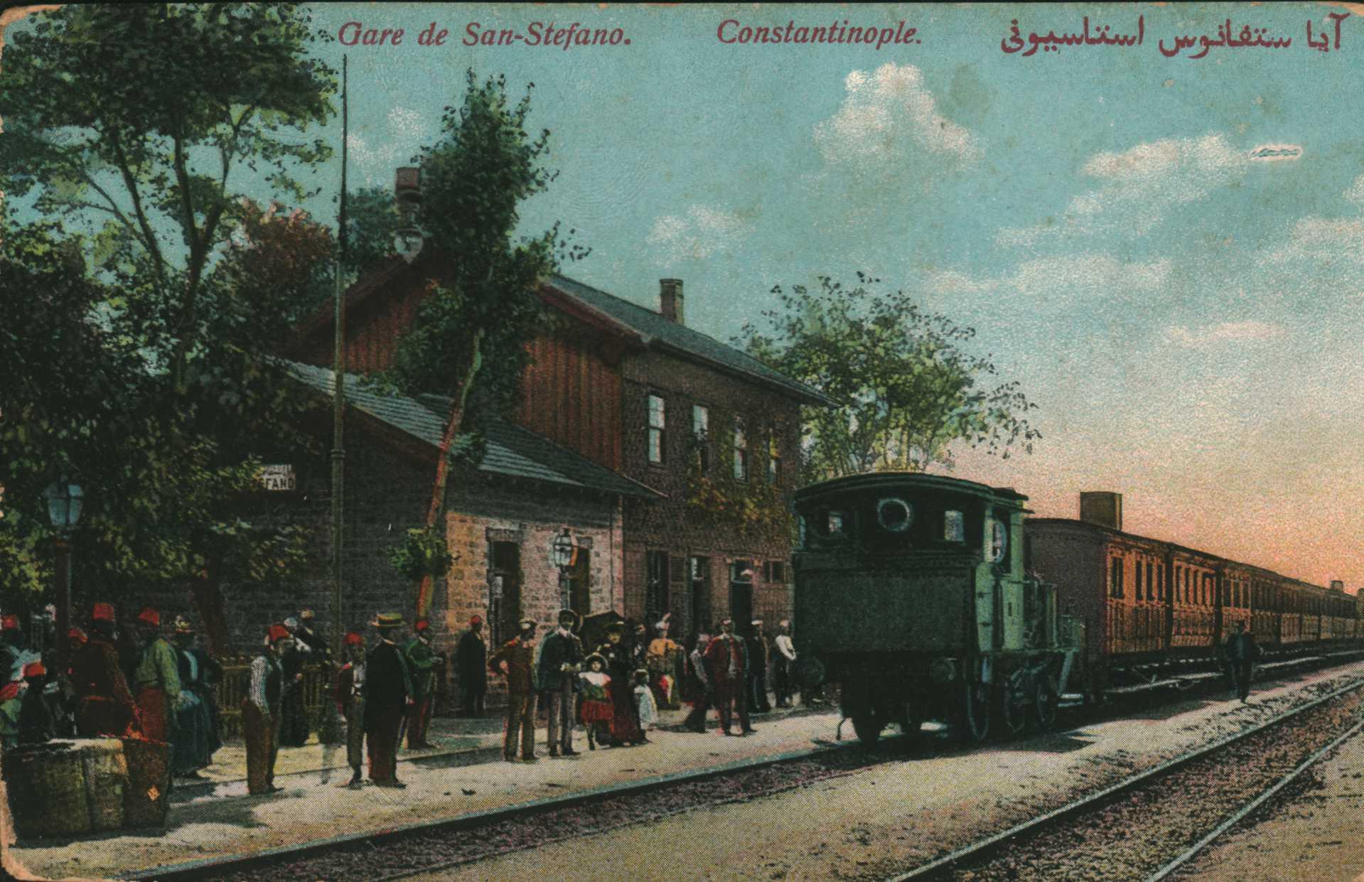 Gare de San-Stefano