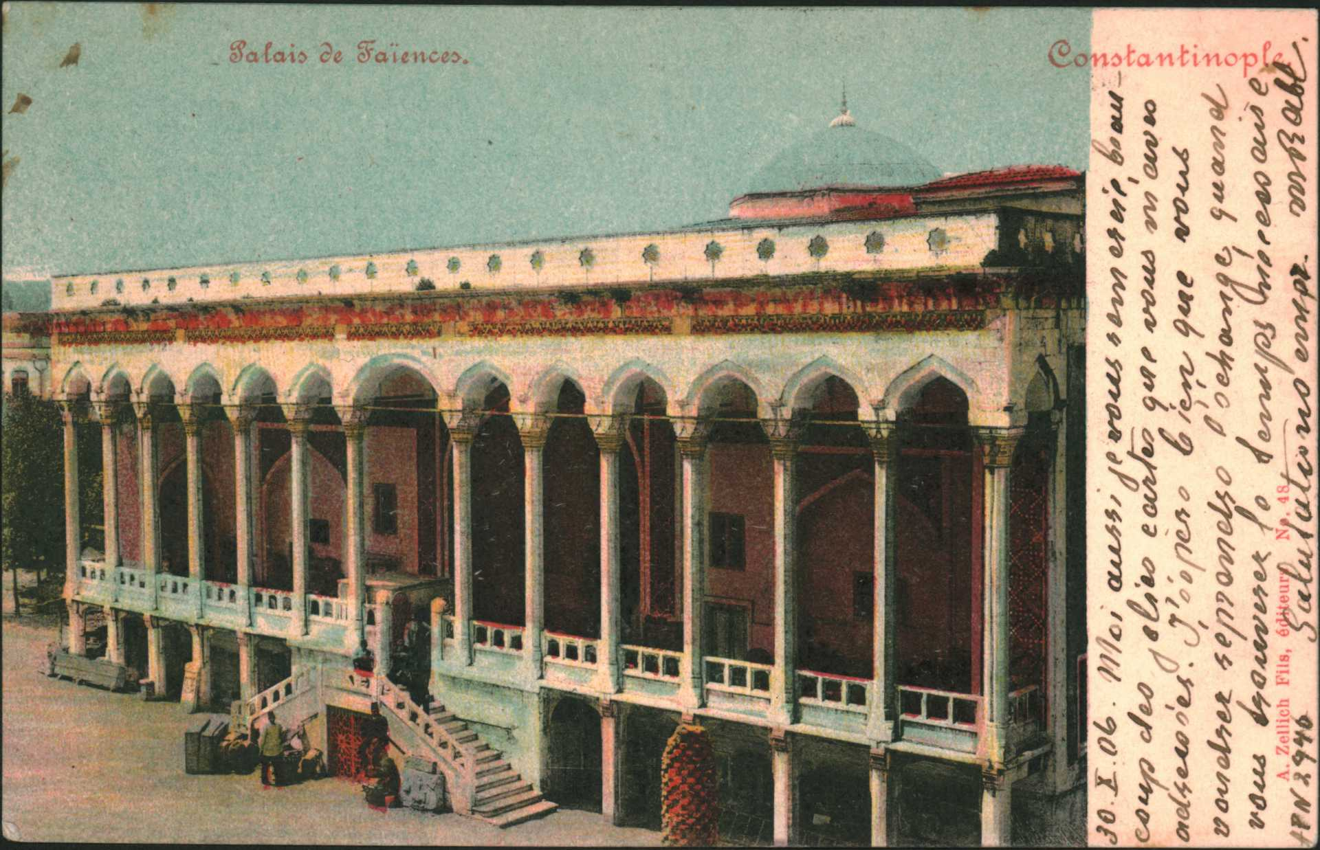Palais de Faiences-Constantinople