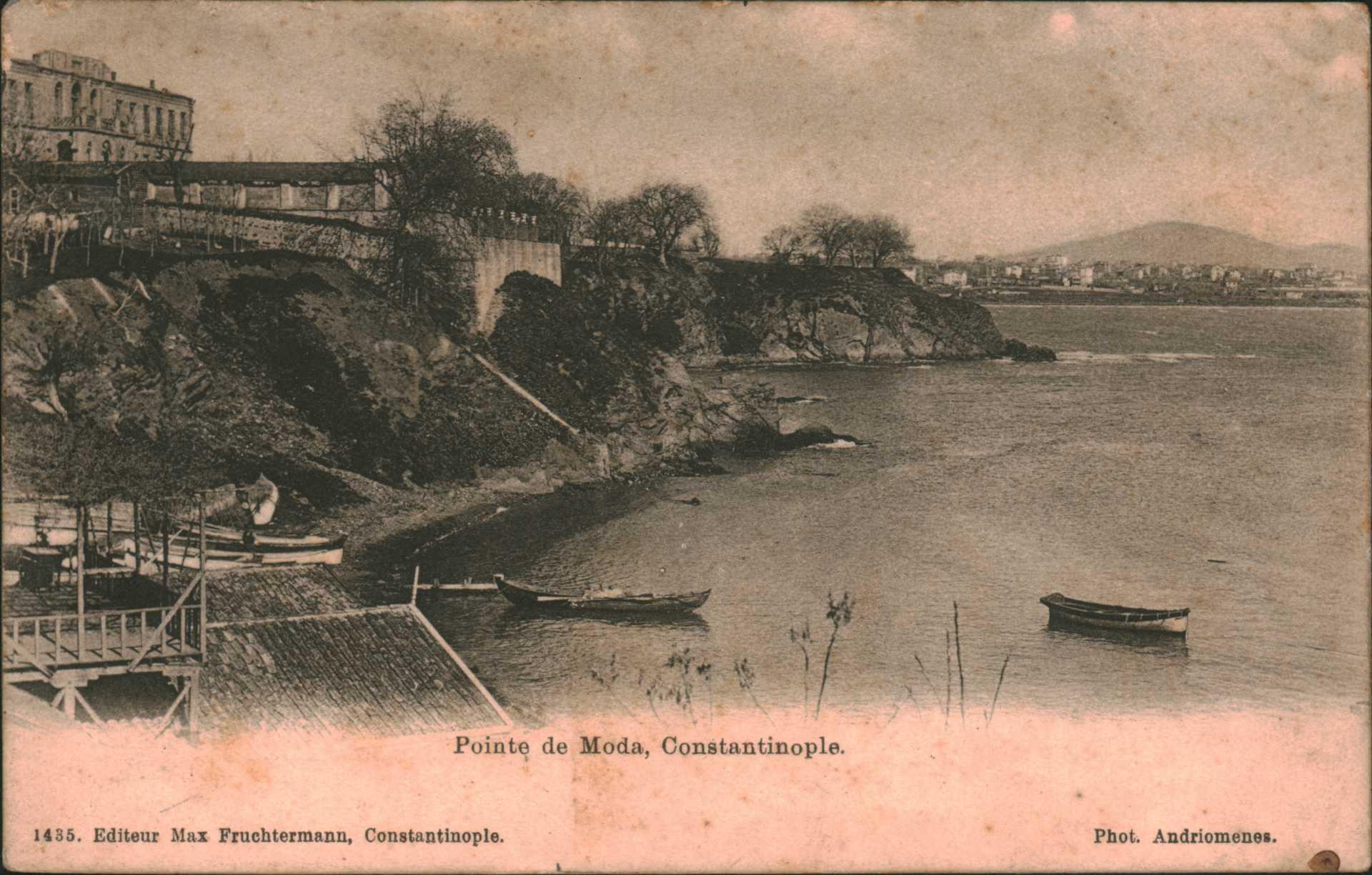 Pointe de Moda  Constantinople