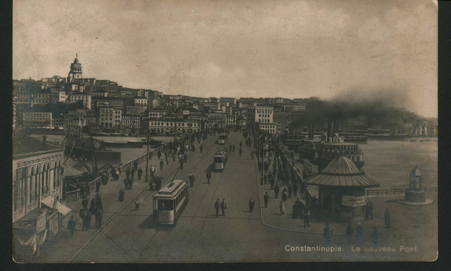 Constantinople. Le nouveau Pont