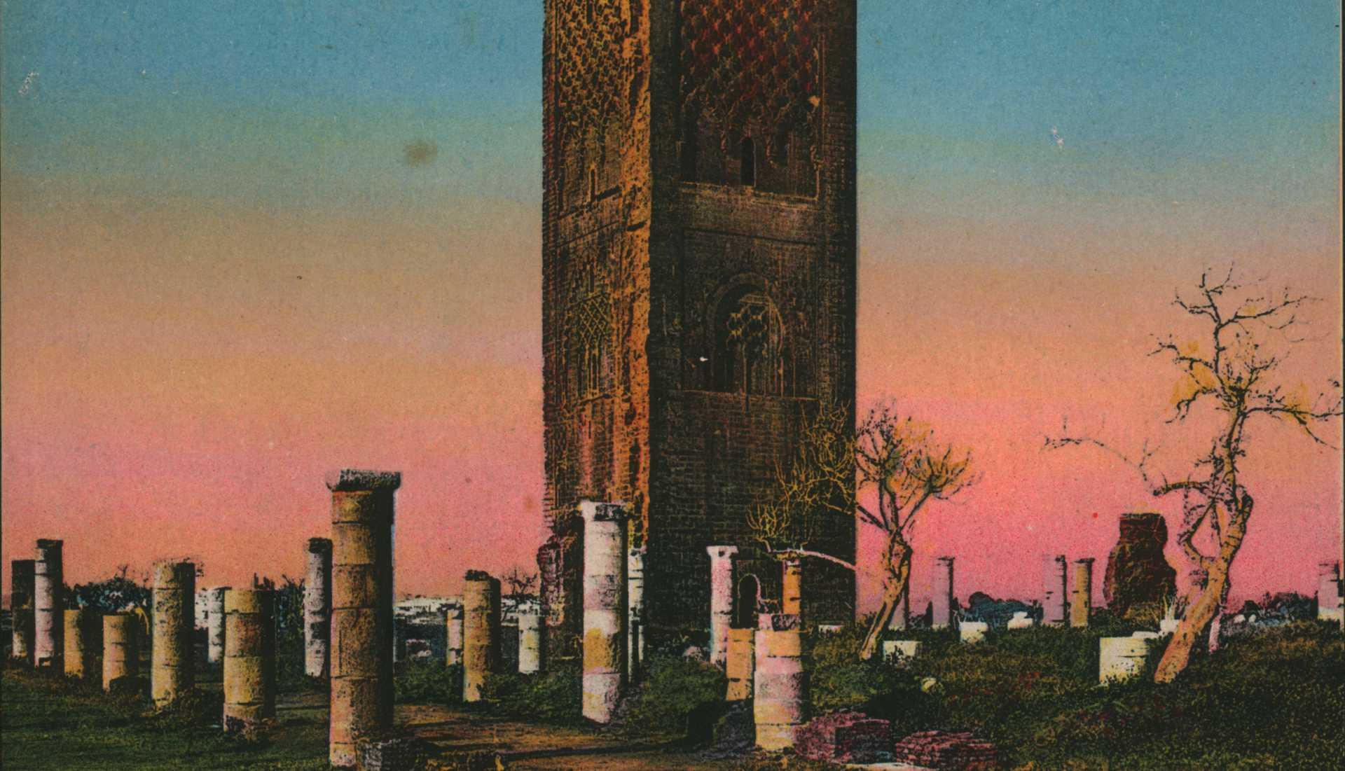 Rabat la tour Hassan