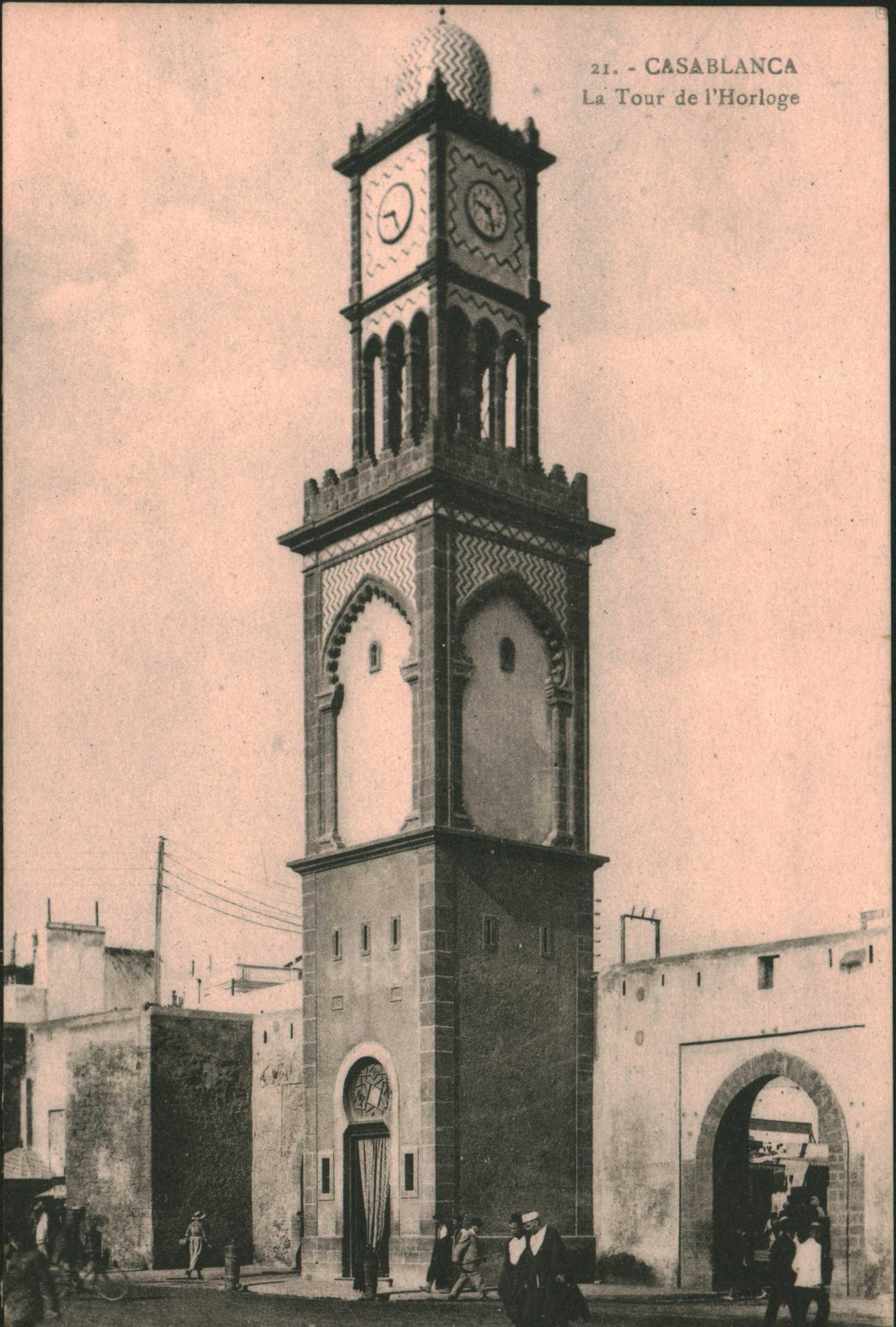 21.Casablanca – La Tour de l'Horloge