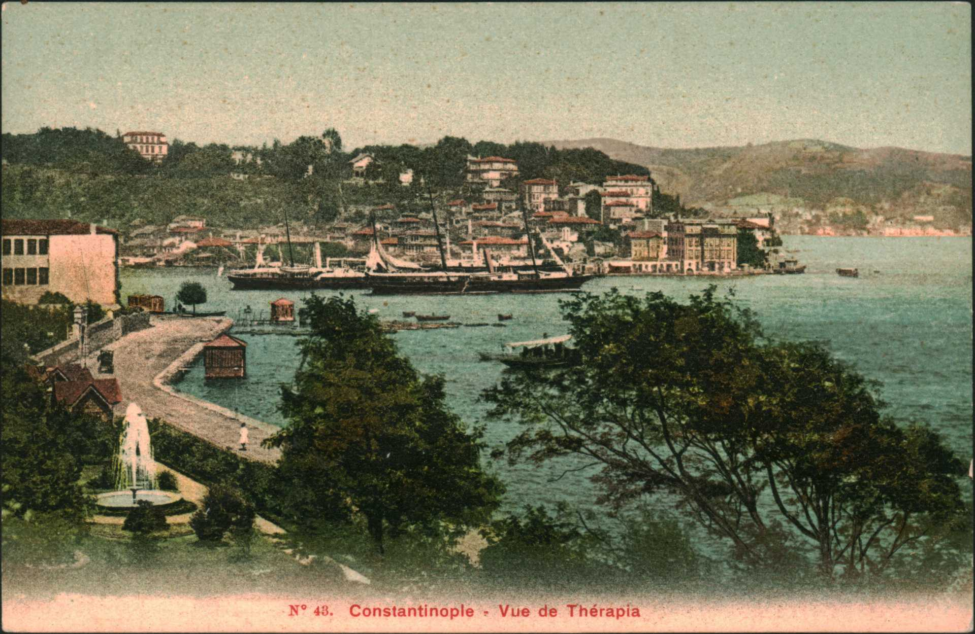 Constantinople – Vue de Therapia