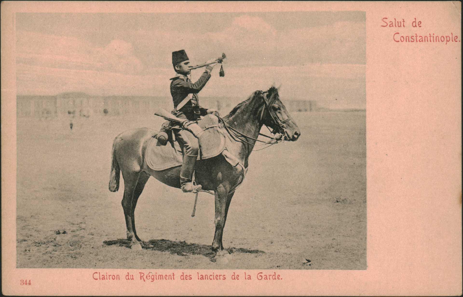 Clairon du Regiment des lanciers de la Garde