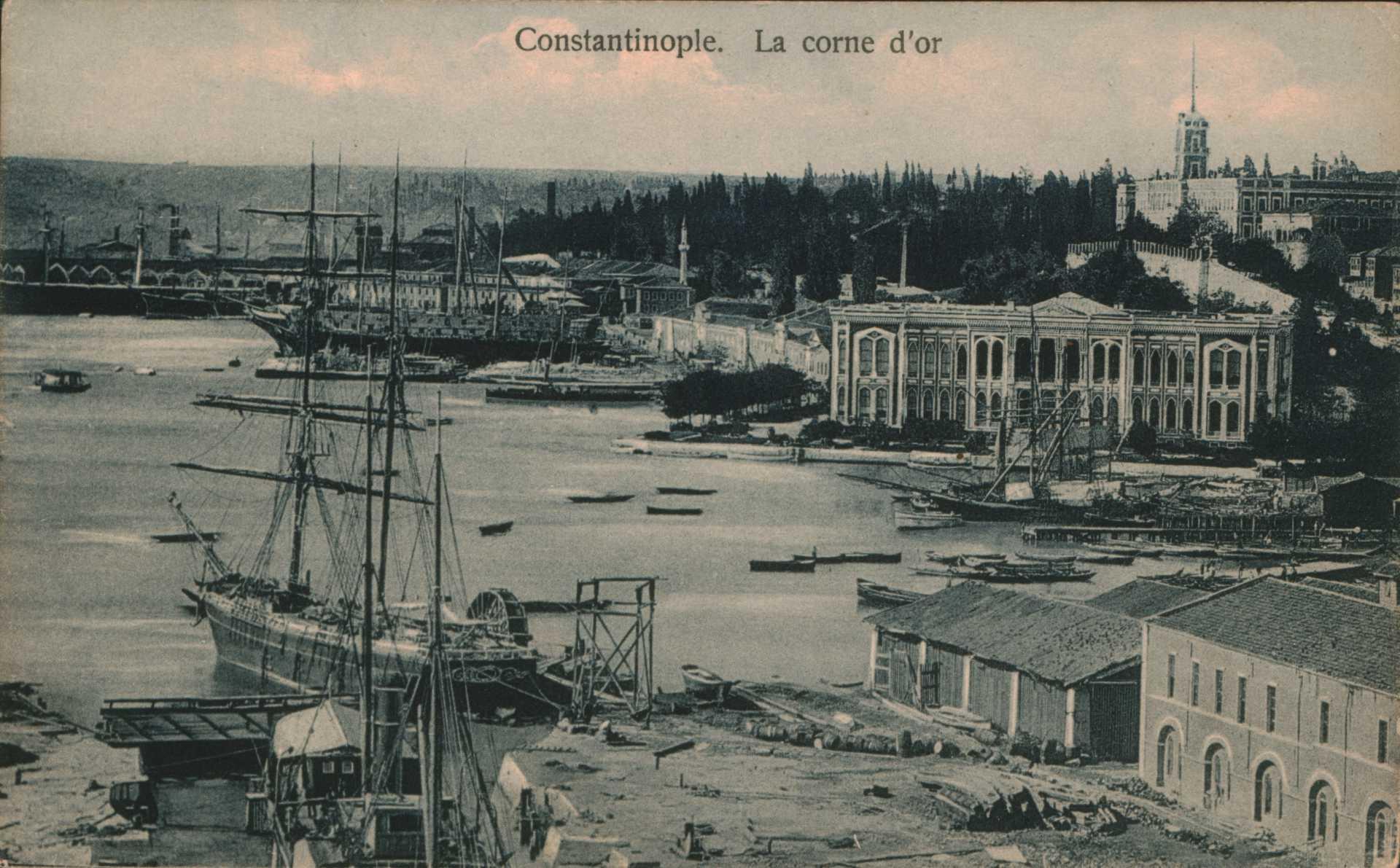 Constantinople -La corne d'or