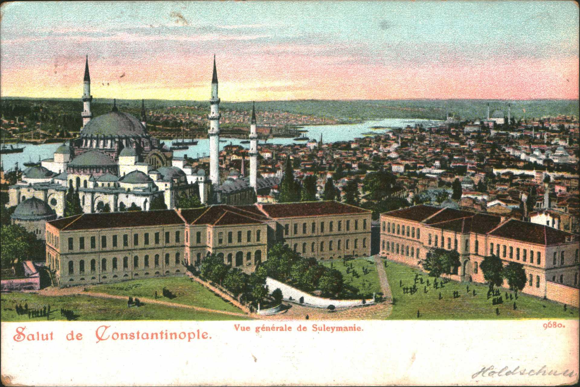 Vue generale de Süleymanie