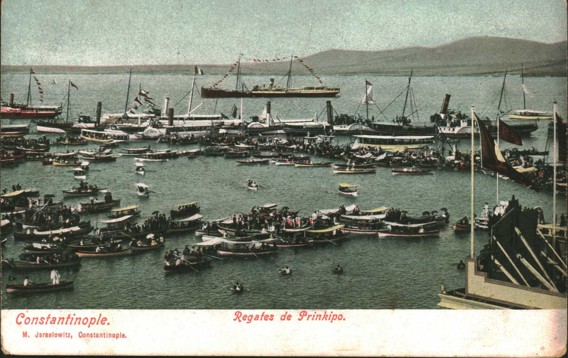 Constantinople. Regates de Prinkipo