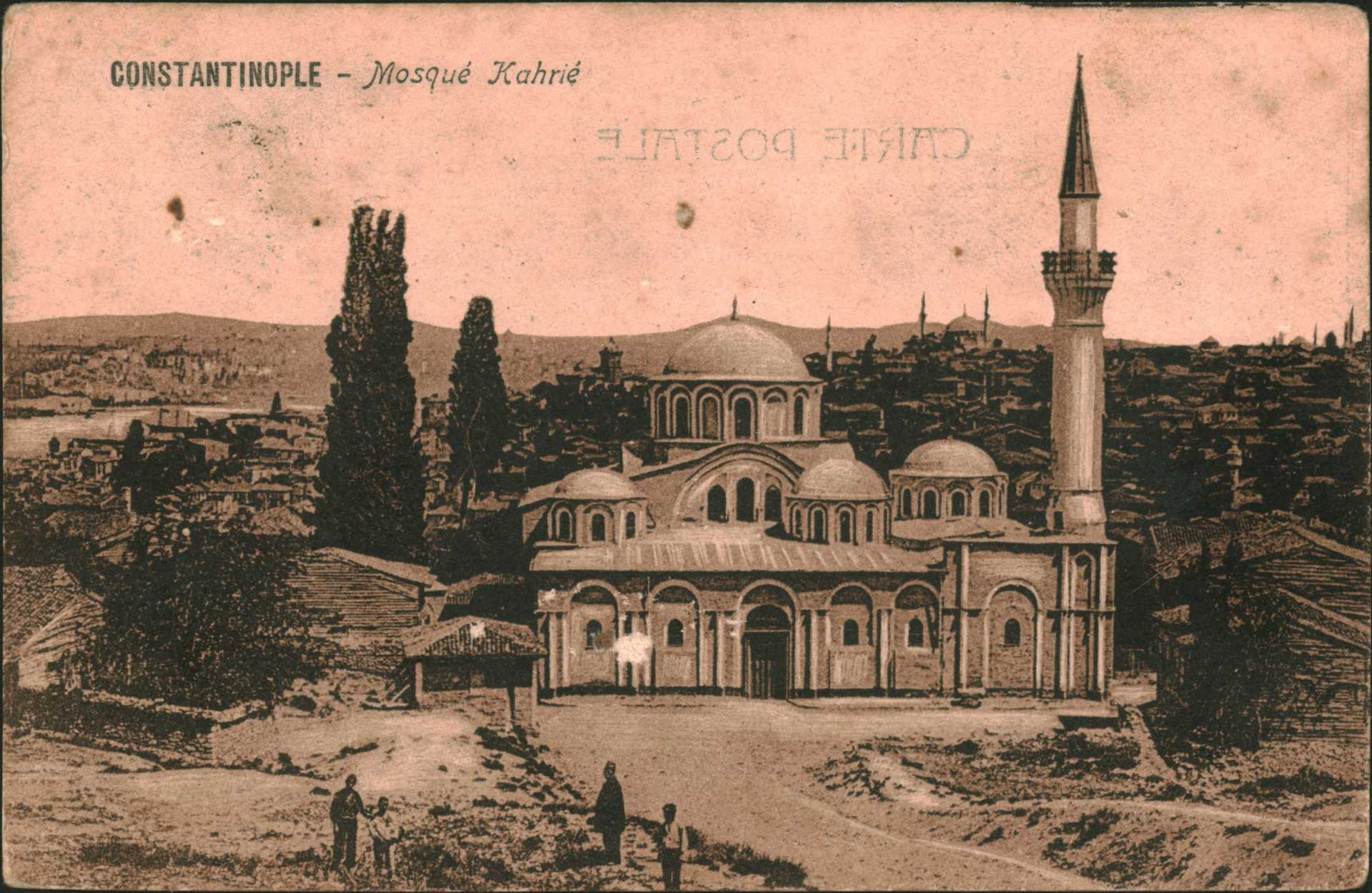 Constantinople- Mosque Kahrie