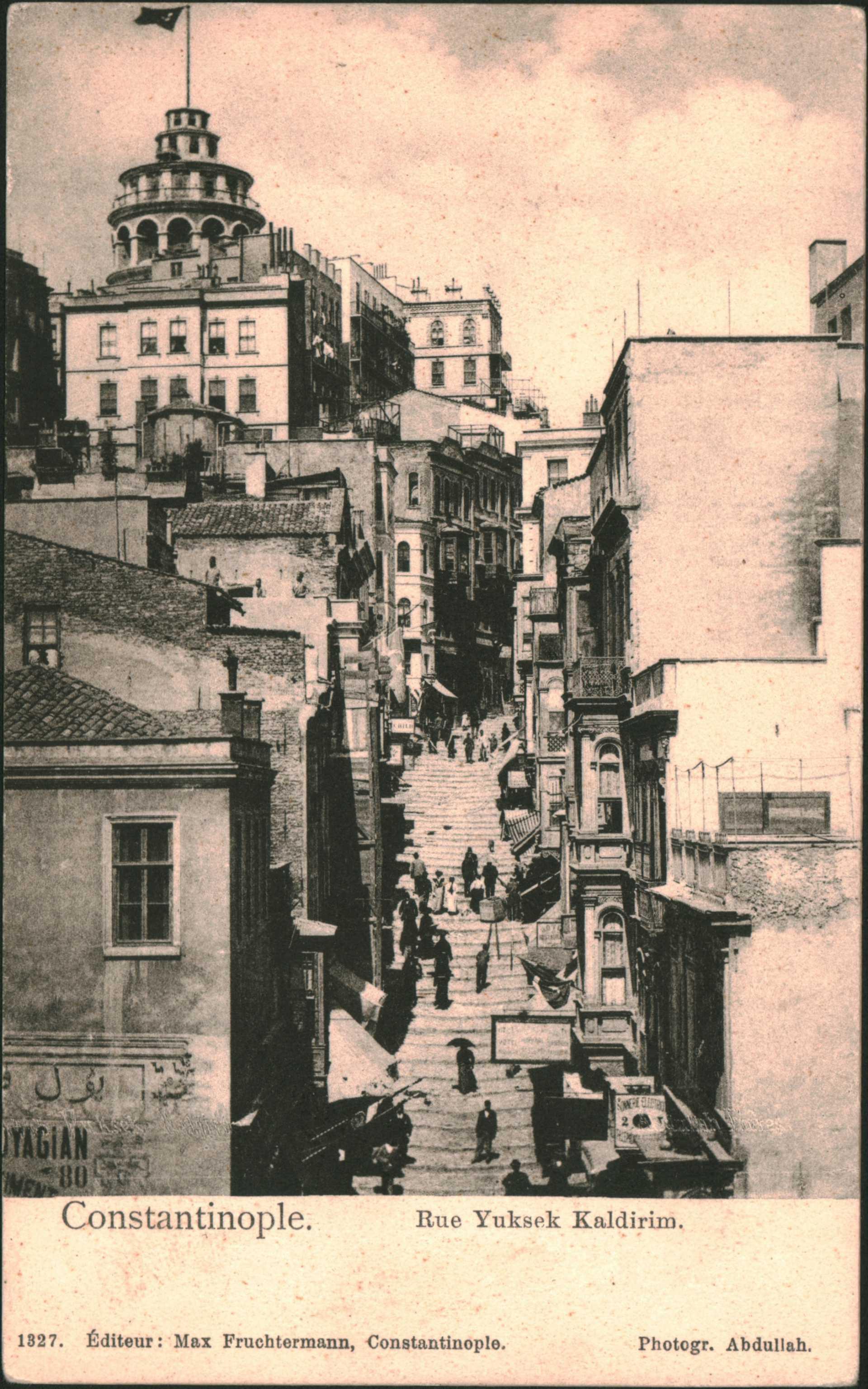 Constantinople – Rue Yuksek Kaldirim