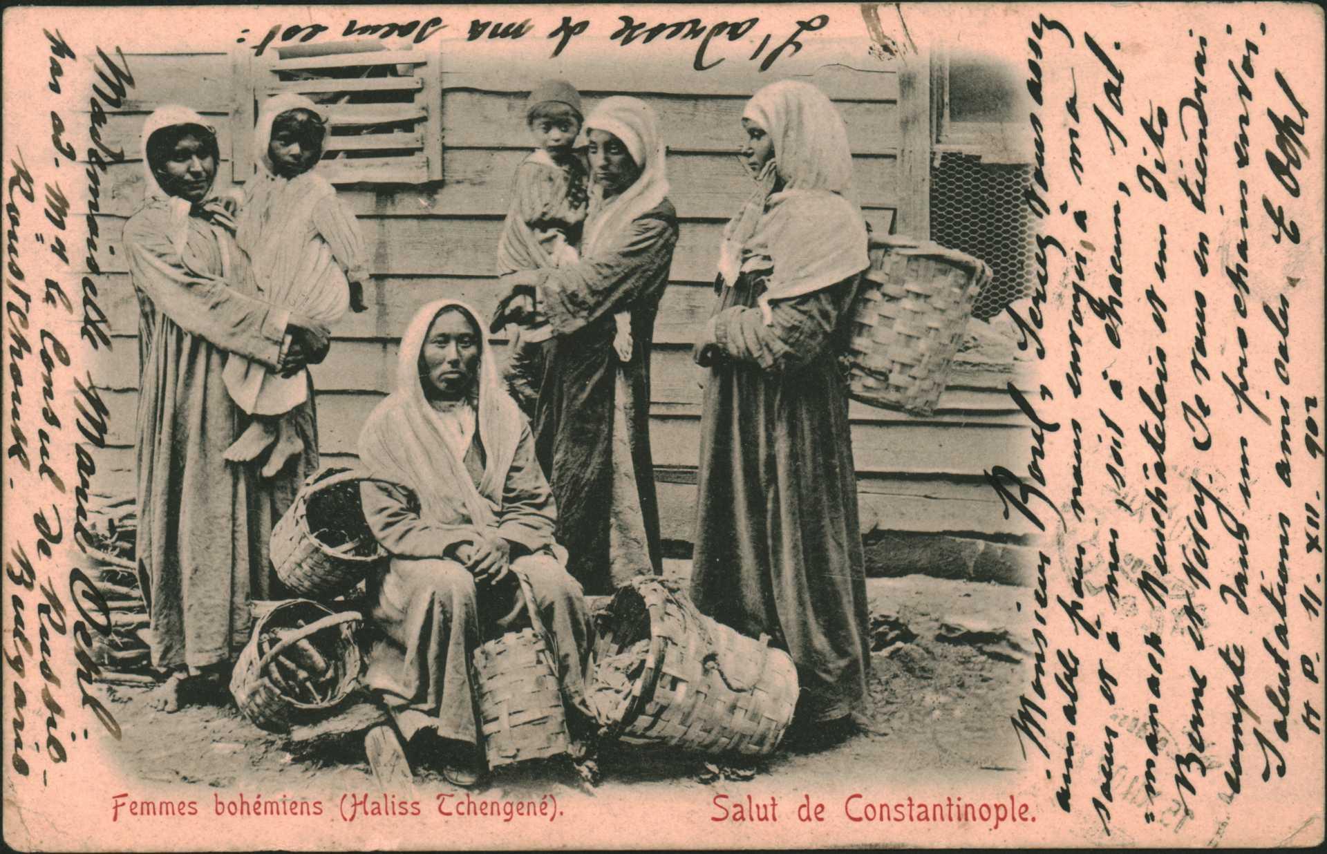 Salut de Constantinople. – Femmes bohemiens (Haliss Tchengene)