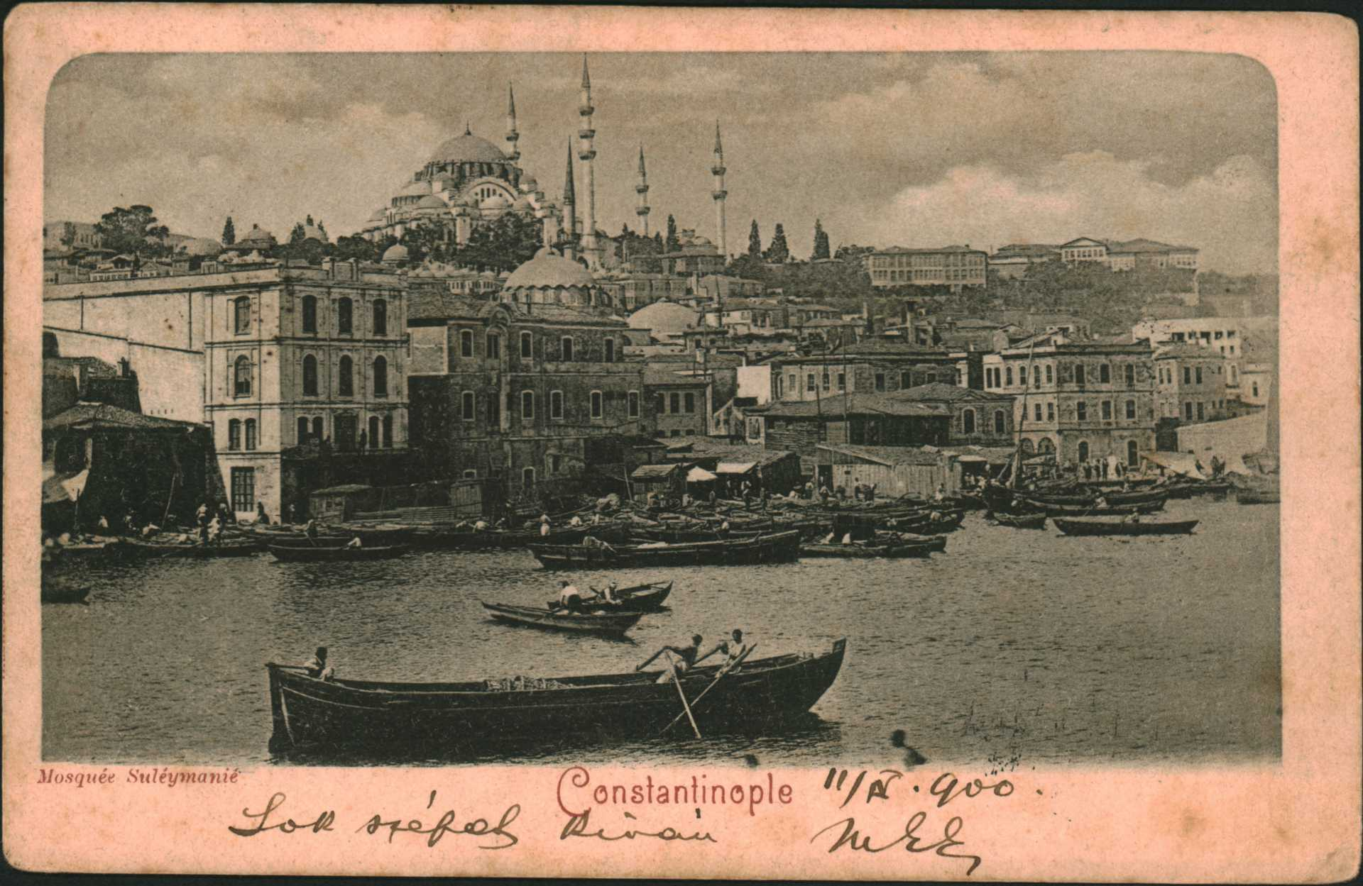 Constantinople. Mosquee Suleymanie