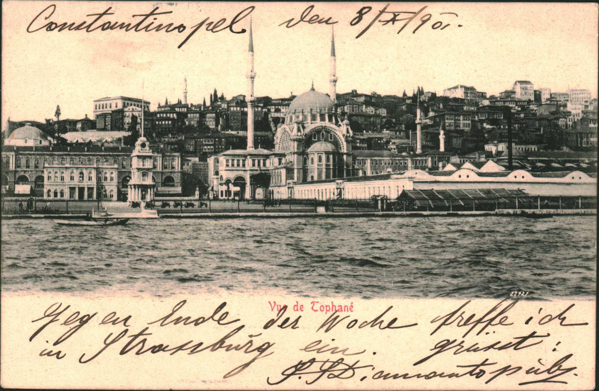 Constantinople – Vue de Tophane